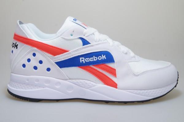 Reebok Pyro blanc//bleu dv5869 Hommes Chaussures Sneaker