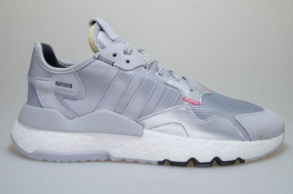 Details zu Adidas Nite Jogger silbergrau EE5851 Sneaker Originals Männer Schuhe