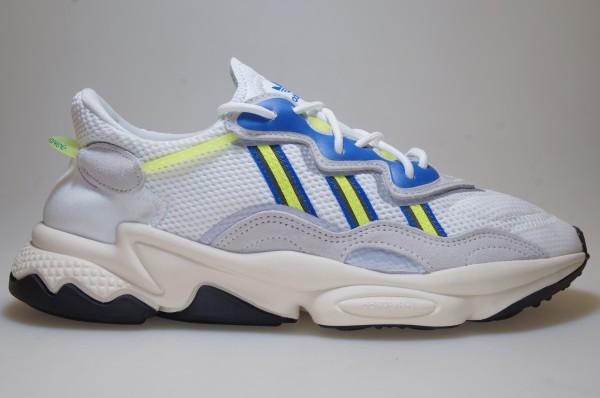 adidas Ozweego (White Neon Yellow) EE7009