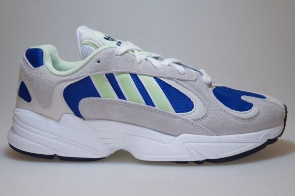 Details zu Adidas Yung 1 graublau EE5318 Sneaker Originals Männer Schuhe