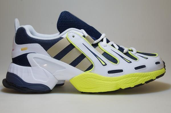 Détails sur Adidas Eqt Gazelle EE7742 BlancBleuJaune Baskets Originals Chaussures Homme