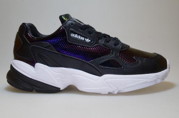 Autorizar Perímetro global  Adidas Falcon W Black EF5517 Trainers Shoes Women Out Loud | eBay