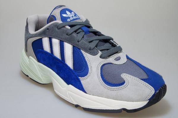 Details zu Adidas Yung 1 graublau AQ0902 Sneaker Originals Männer Schuhe