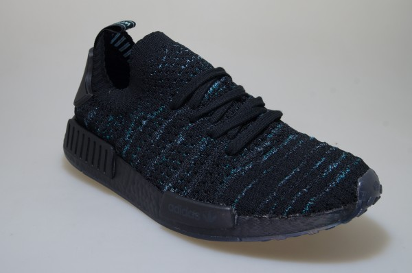 Details about Adidas Nmd R1 Stlt Parley Pk Aq0943 Black Sneakers Originals Men