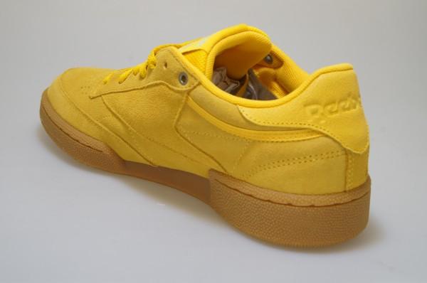 Détails sur Reebok Club C 85 Mu CN3867 Jaune Montana Cans Hommes Chaussures Baskets