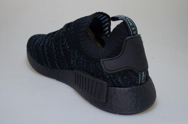 Details zu Adidas NMD R1 STLT Parley PK AQ0943 schwarz Sneaker Originals Männer
