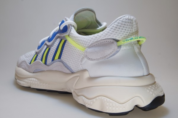 Details about Adidas Ozweego EE7009 WhiteBlueGreen Sneakers Originals Men's Shoes