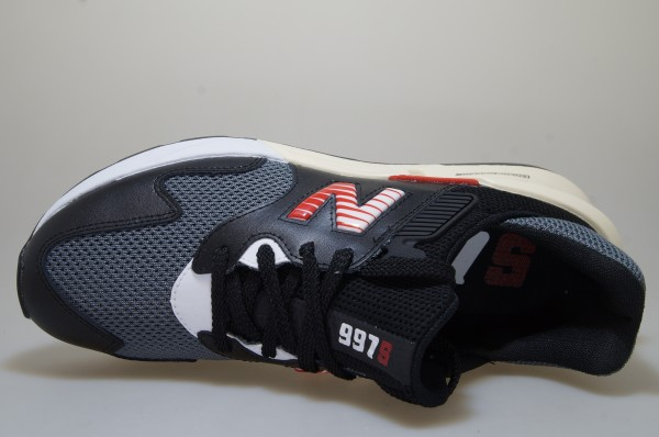 Details zu New Balance MS 997 JHD schwarzrot Schuhe Sneaker Männer 724081 60 8