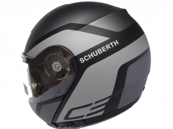 schuberth c3 pro observer grey klapphelm motorradhelm gr. Black Bedroom Furniture Sets. Home Design Ideas