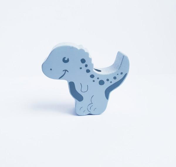 Formperle Dino in 5 Farben Motivperlen für Schnullerketten Greiflinge uvm