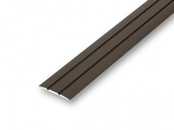 bergangsprofil schweller teppichschiene parkett laminat t r profil flach 38 mm ebay. Black Bedroom Furniture Sets. Home Design Ideas
