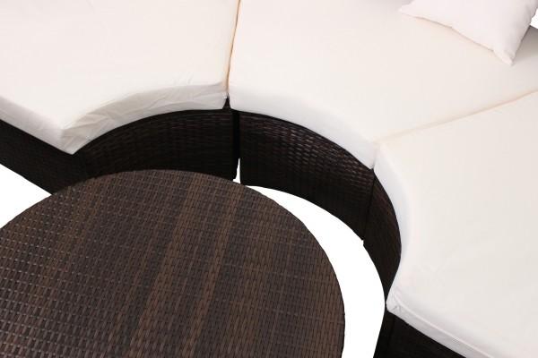 miweba caribbian polyrattan paradise rattan lounge 230. Black Bedroom Furniture Sets. Home Design Ideas