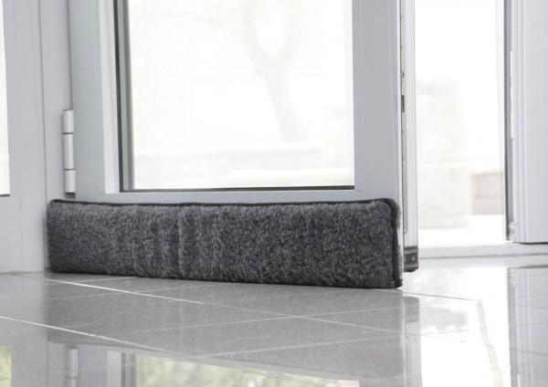 zugluftstopper schurwolle zugluft t rdichtung t r. Black Bedroom Furniture Sets. Home Design Ideas