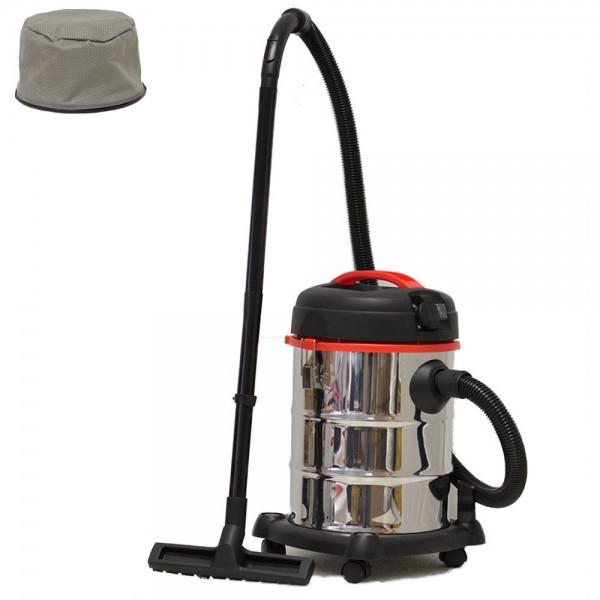 grafner nass und trockensauger 1200 watt 30 liter mit steckdose. Black Bedroom Furniture Sets. Home Design Ideas